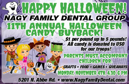 Halloween Candy Buyback